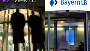 West LB und Bayern LB loten Fusion aus