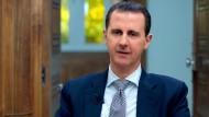 Assad leugnet Einsatz von Chemiewaffen