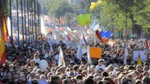 Großdemonstration gegen neues Abtreibungsrecht