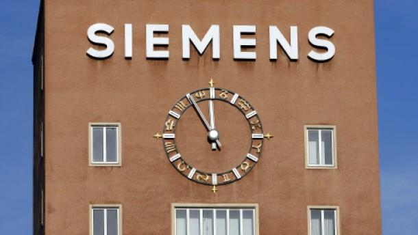 Siemens streicht bis zu 15.000 Stellen