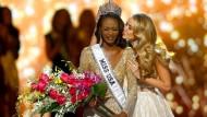 Grenzenlose Freude bei der neuen Miss USA