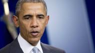 Obama verurteilt Attentate von Paris als Angriff auf die gesamte Menschheit
