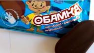 """In Russland erscheint Schoko-Eis Obamka"""""""
