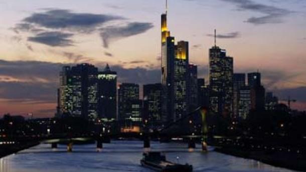 Banker aus aller Welt in Frankfurt
