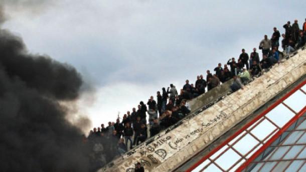 Drei Tote und viele Verletzte bei Unruhen in Tirana