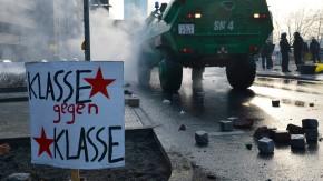 Ausnahmezustand in Frankfurt