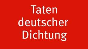 Bild / Taten deutscher Dichtung