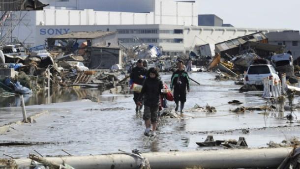 Japanische Unternehmen stoppen ihre Produktion