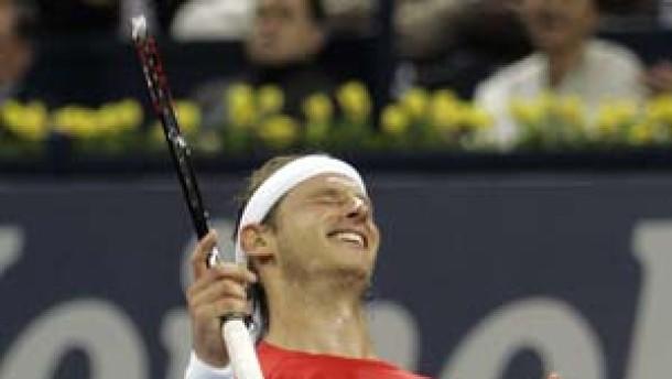 Nalbandian stoppt Federers Siegeszug