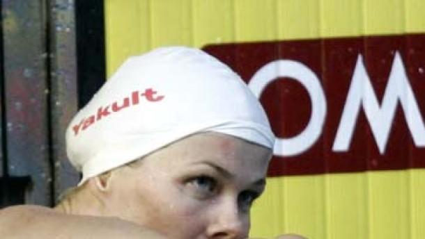 Nur Bronze für Weltrekordlerin Britta Steffen