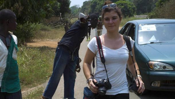 Französische Fotojournalistin getötet