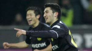 Dortmund feiert, Gladbach trauert
