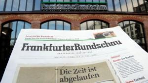 Schwarzer Freitag für die Frankfurter Rundschau