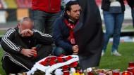 Fußballer stirbt während des Spiels