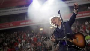 Mit Bob Geldof gegen Schwarz-Gelb