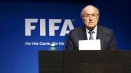 Fifa-Präsident Joseph Blatter tritt zurück