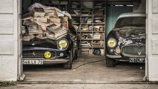 60 Autoschätze in Frankreich entdeckt
