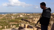 Bewaffnete schützen Libyens Antikenschätze
