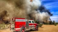 Gewaltiges Buschfeuer in Amerika