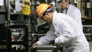 Fabriken auf bebender Erde