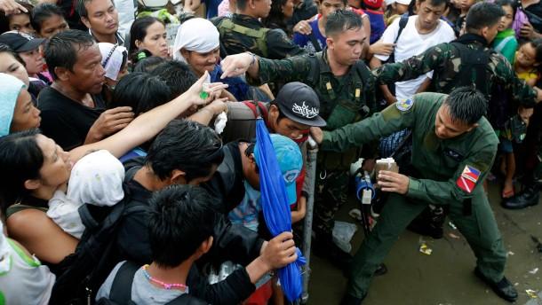 Philippinen korrigieren Zahl der Toten nach unten