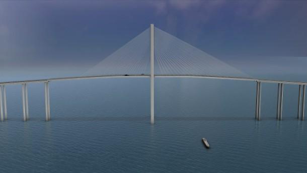 Hochtief will Riesenbrücke bauen