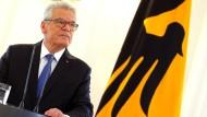 Viel Lob für Gauck nach dessen Erklärung
