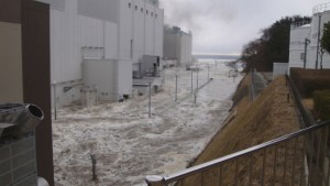 Fünfzehn-Meter-Welle traf Atomkraftwerk