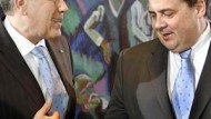 Glos und Gabriel: Einig über Krawatten, aber nicht bei Klima und Kernkraft