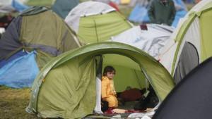 Lage der Flüchtlinge an der griechisch-mazedonischen Grenze weiter katastrophal