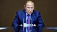 Putin: Täter finden und bestrafen