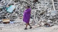 Überlebende in Mittelitalien stehen unter Schock