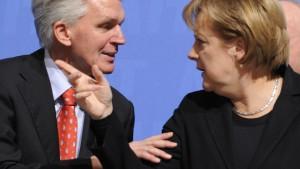 Giftige Kritik an Unions-Führung und Merkel