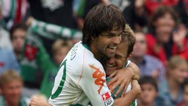 Werder feiert Auftaktsieg - HSV und Schalke schwach