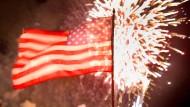 Feuerwerk-Spektakel zum Independence Day