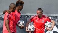 Bayern wollen auf Triple-Kurs bleiben