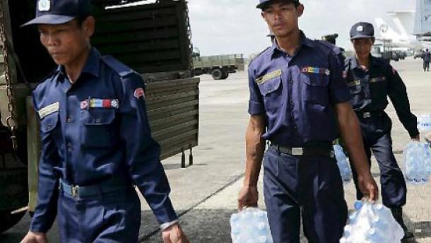 EU setzt auf politischen Druck gegen Burmas Junta