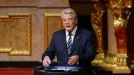 Gauck spricht von Völkermord an den Armeniern.