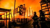 Großbrand verwüstet Favela in São Paulo