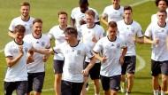 Nationalmannschaft beendet Trainingslager in Ascona