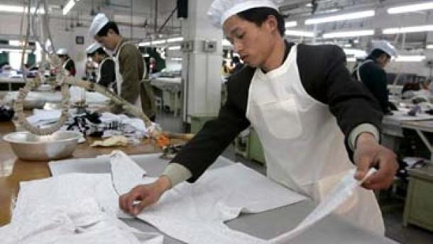 Chinas Griff nach der Industrie des Westens