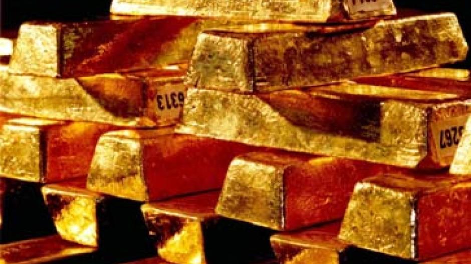 Wegen des Dollarverfalls anhaltend gefragt: Gold
