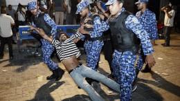Ausnahmezustand auf den Malediven verhängt