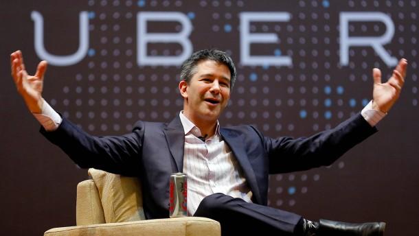 Uber-Chef Kalanick tritt zurück