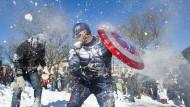 Schneefans in Washington drehen auf