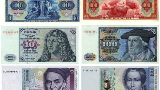 Was hatte die Mark, was der Euro nicht hat?