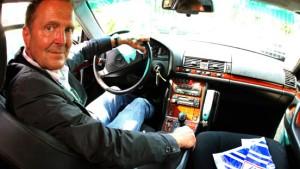 Theo Albrechts Wagen steht zum Verkauf