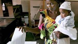 Zwei Tote bei Wahlen in Kongo
