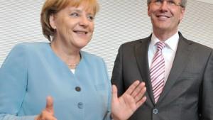 Merkel meidet das Risiko