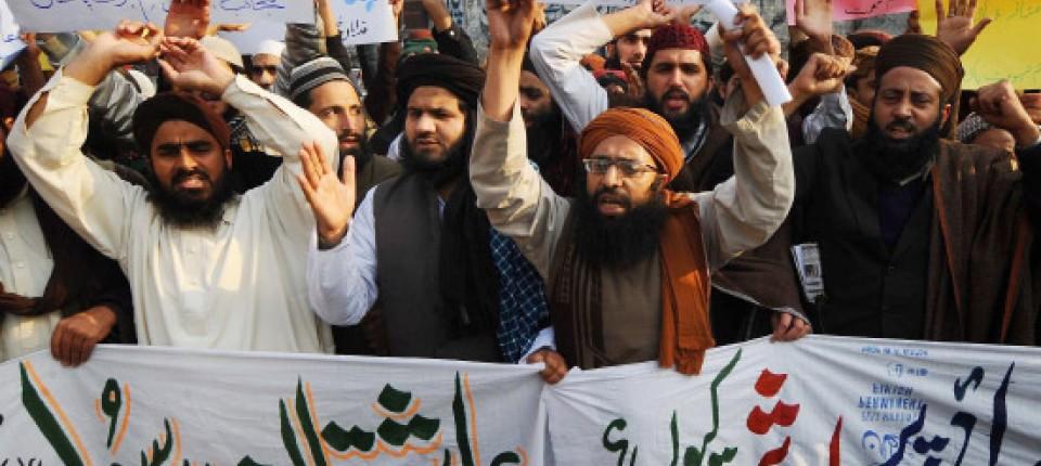 Ein pakistanischer Moslem